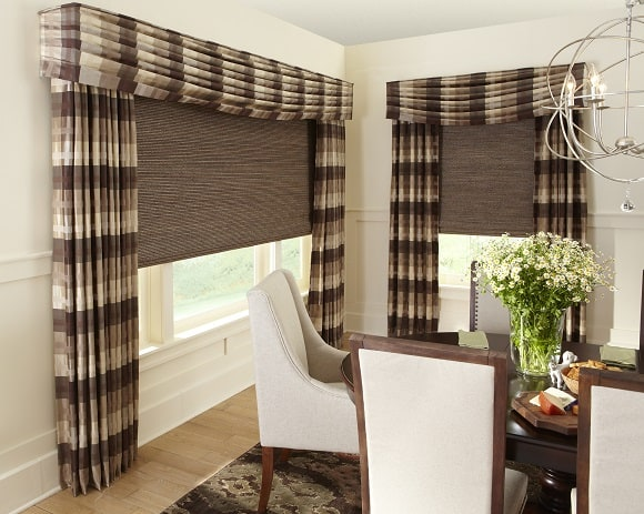for brown wood wooden custom blinds chocolate in windows window budget