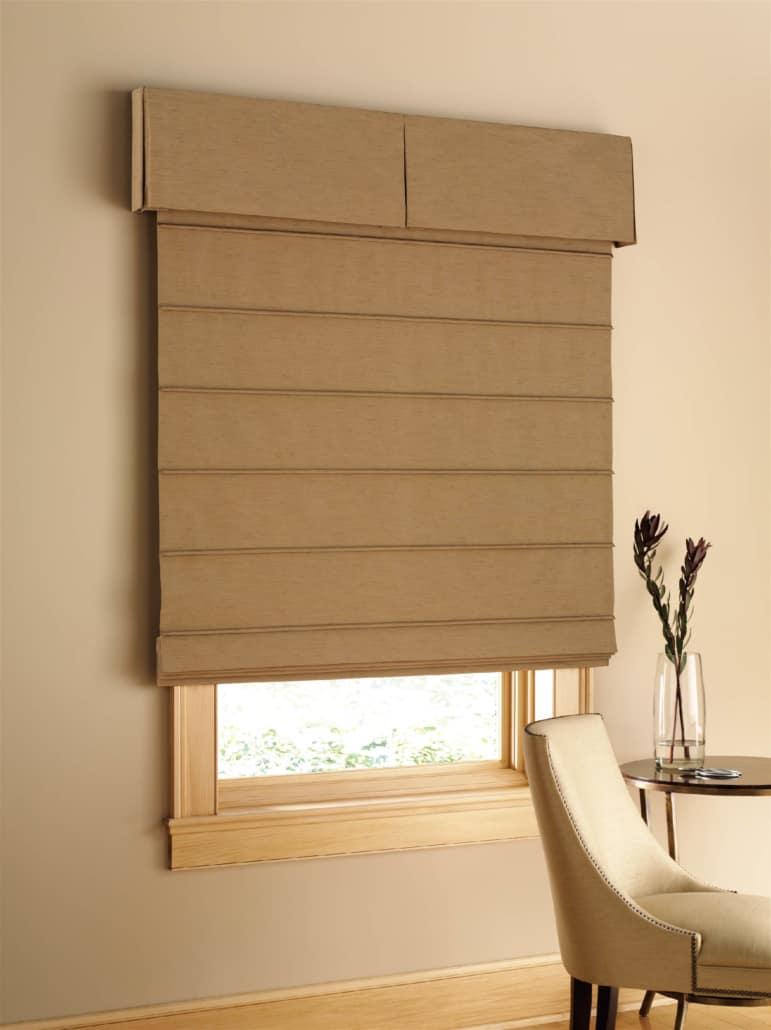 Hunter Douglas Design Studio Fabric Valance Box Pleat