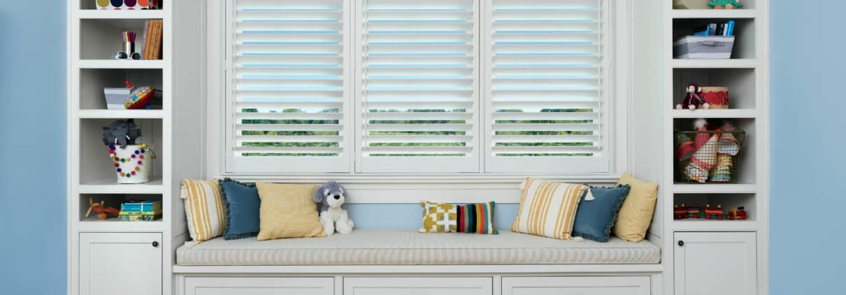 Hunter Douglas Palm Beach Polysatin Shutters Standard Panels