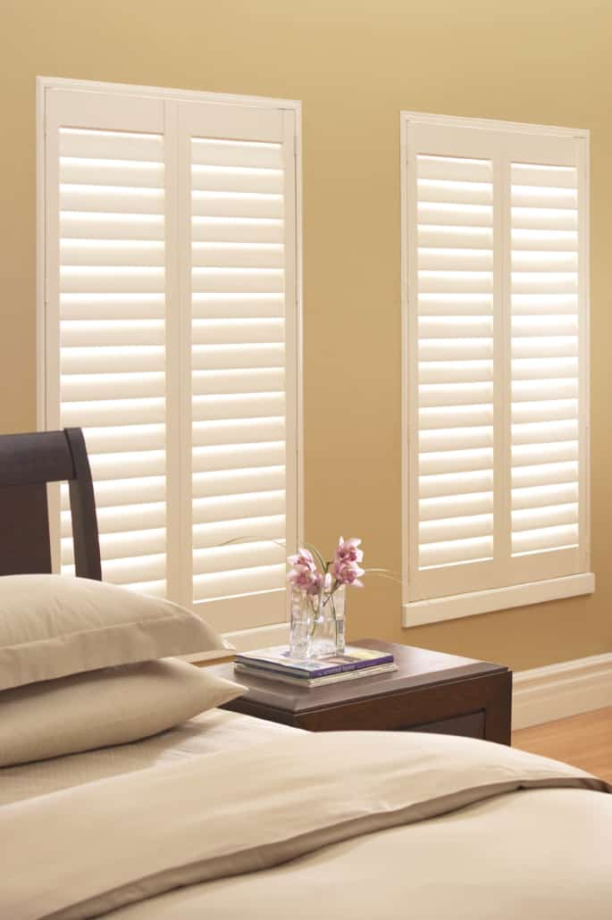 Hunter Douglas Palm Beach Shutters Hidden Tilt Bedroom