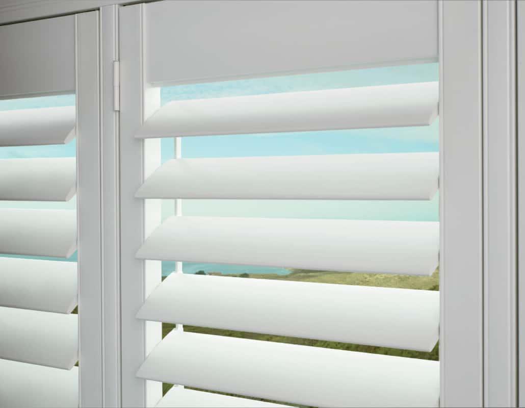 Hunter Douglas Palm Beach TruView Rear Tilt Detail