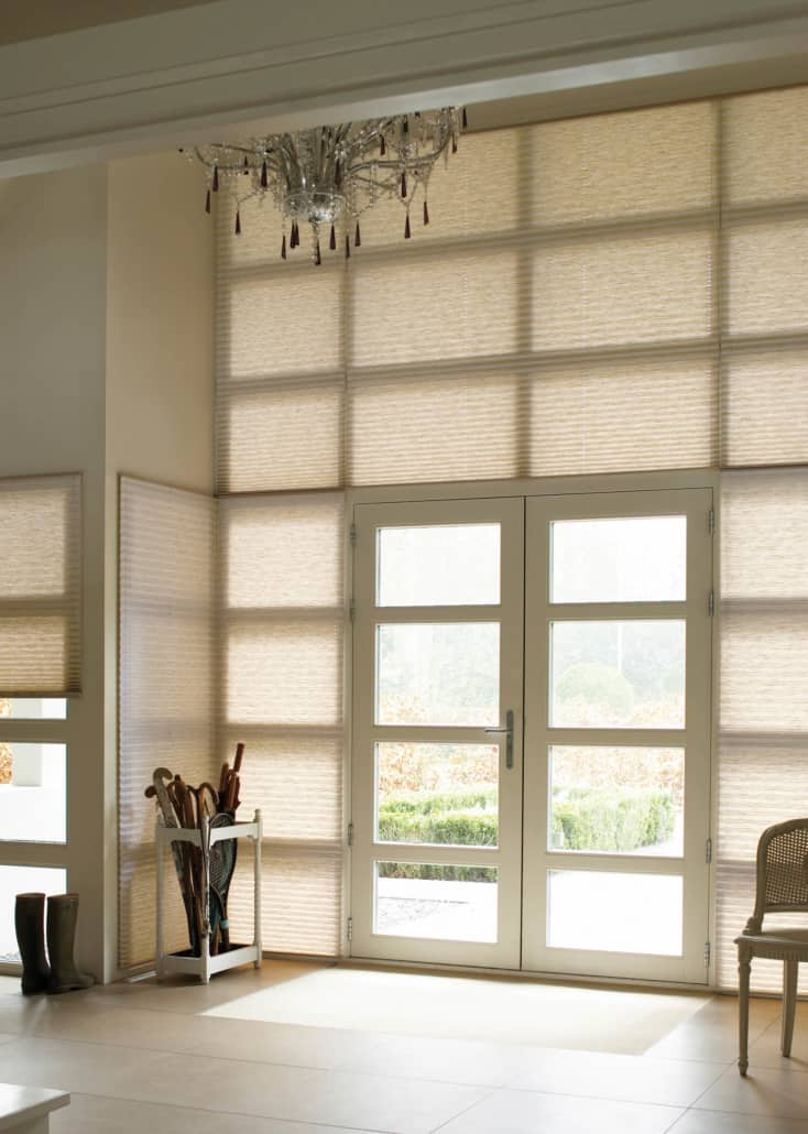 Hunter Douglas Pleated Shades PowerView