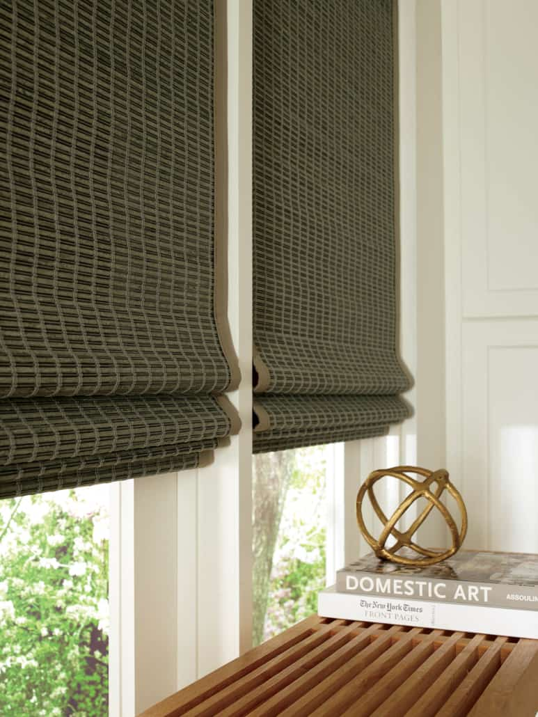 Hunter Douglas Provenance Woven Wood EasyRise Shade Mindanao Fabric Detail
