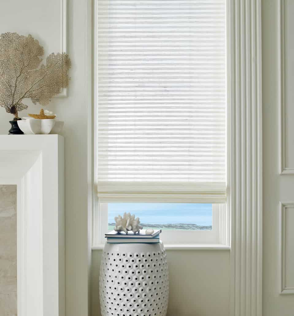 Hunter Douglas Provenance Woven Wood Shade No Liner