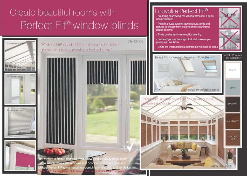 Perfect Fit Window Blinds for Tilt and Turn Windows