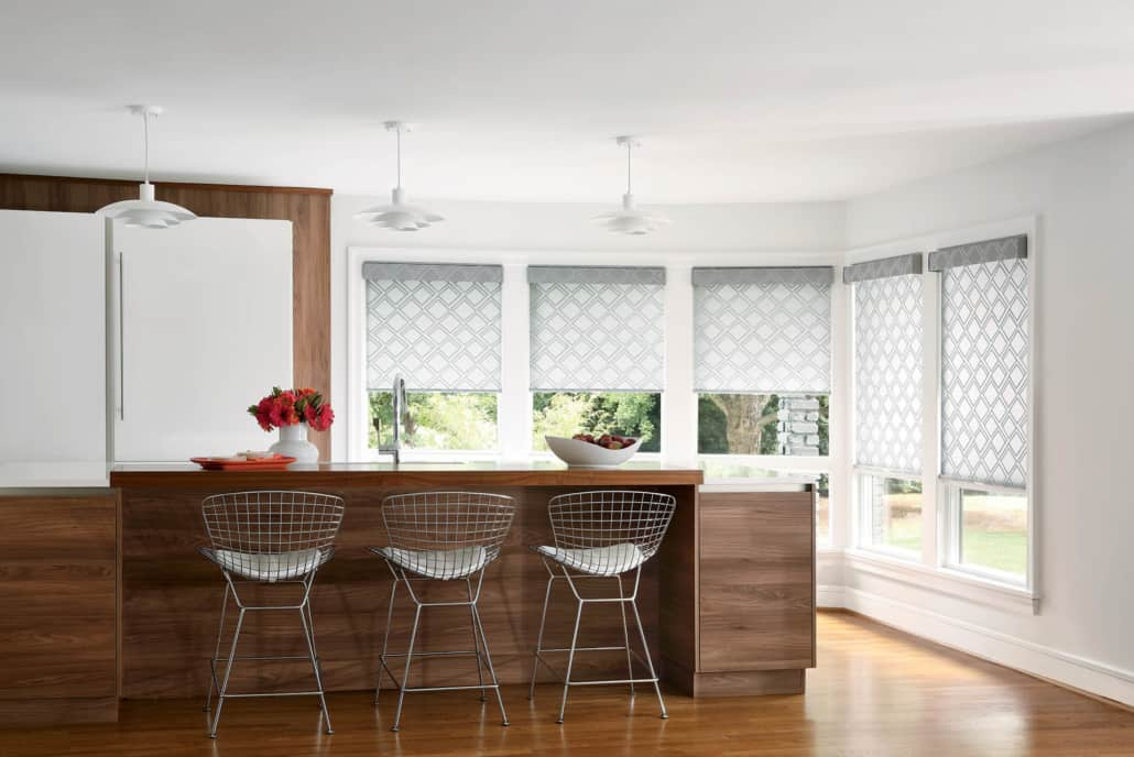 Hunter Douglas Designer Roller Shades Kitchen