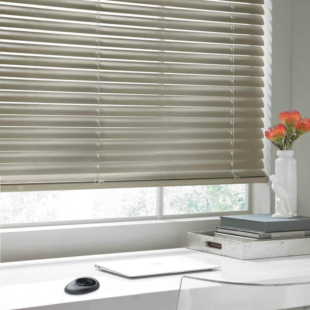 Hunter Douglas Modern Precious Metals Aluminum Blinds