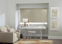 Hunter Douglas Modern Precious Metals Blinds PowerView Office