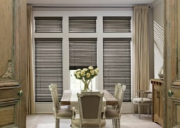 Hunter Douglas Parkland Basswood Dining Room