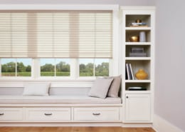 Hunter Douglas Sonnette LiteRise Cellular Roller Shade Bedroom