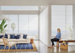 Hunter Douglas Nantucket Brant Point Sheer Shadings Living Room