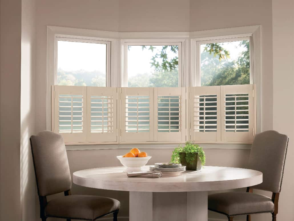 Hunter Douglas NewStyle Front Tilt Bar Hybrid Cafe