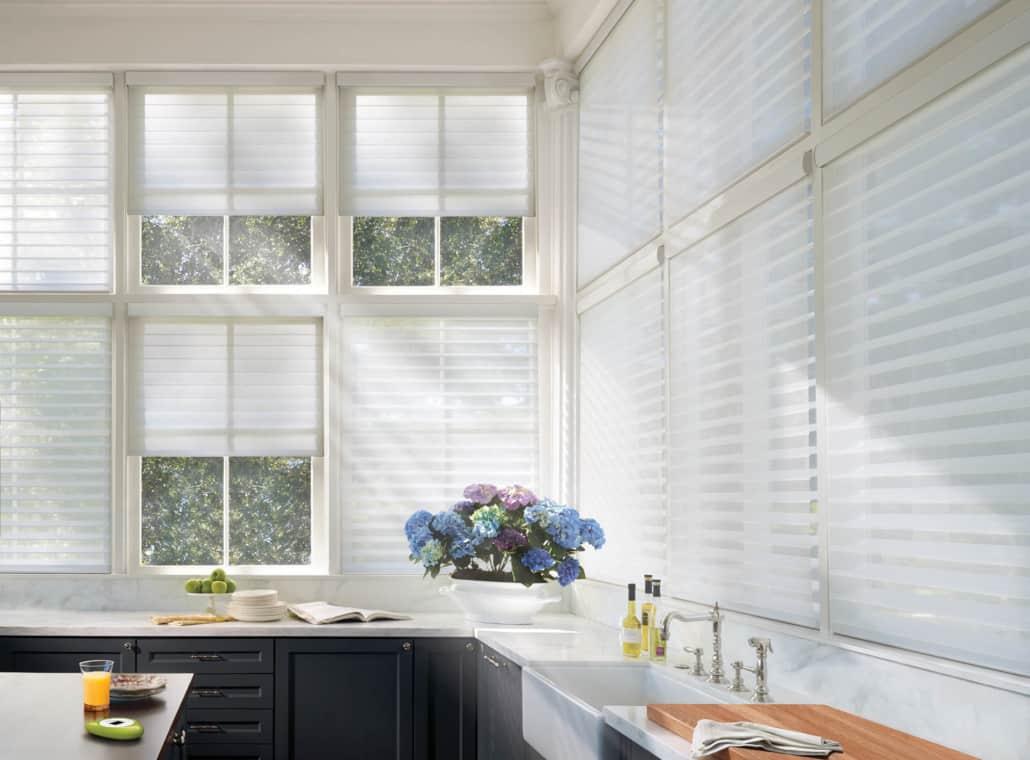 Hunter Douglas Silhouette Originale Sheer Shadings Kitchen