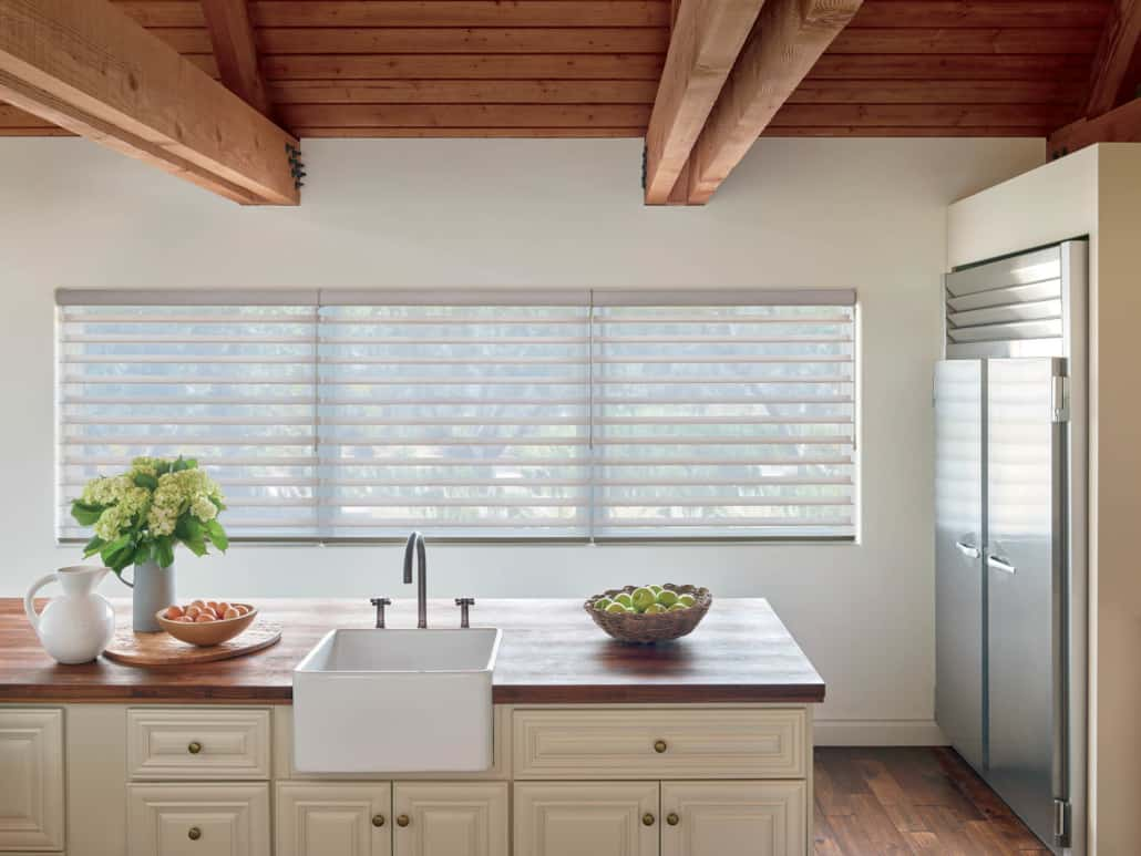 Hunter Douglas Silhouette SoftTouch Sheer Shading Kitchen