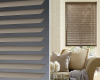 The advantage of horizontal aluminum blinds is that you can control the amount of light by angling the slats.