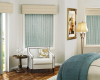 Cadence Vertical blinds by Hunter Douglas offer a sleek and stylish solution for windows and doors.