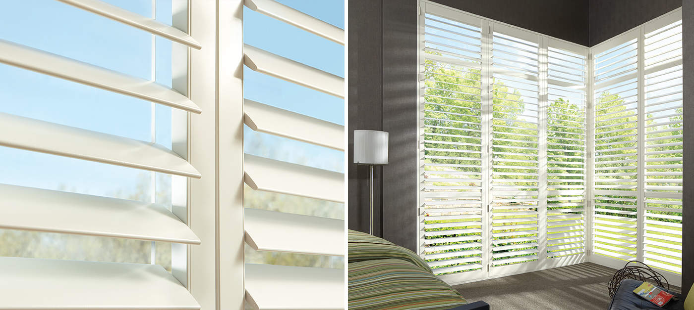 Wood Look Shutters With Value Pricing Hunter Douglas S
