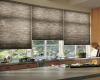 Hunter Douglas Duette cellular shades work well in kitchens too.