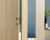 Hunter Douglas Duette cellular shades can be installed on French and patio doors.