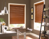 Modern faux wood blinds have the beauty and consistency of authentic wood blinds.