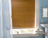Break away cord tassels mean that these blinds have a child safety feature to protect your family.