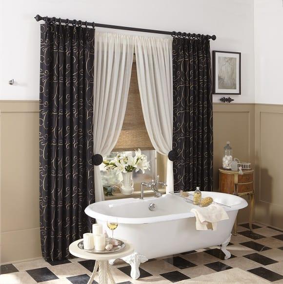 Simply Custom Window Fashions Ruffell Amp Brown Window