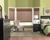 Woven wood shades feature the aesthetic weaving of wood, bamboo, rattan, touch of jute with natural grasses and reeds.