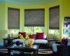 Woven Wood Shades combine the traditional, classic look of a woven wood shade with styles and patterns designed to impress today's fashion conscious buyers.