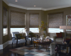 For your woven wood shades, choose from open weaves that gently filter the light or tight weaves for maximum privacy.