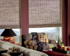 Bring a little bit of the outdoors into your home with woven wood shades!