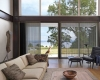 Hunter Douglas Luminette sheers work so well on patio and French doors.