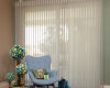 Hunter Douglas Luminette sheers come in many fabrics to coordinate with your room's decor throughout the seasons.