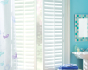 Hunter Douglas Palm Beach polysatin shutters are great for high moisture areas as they are manufactured never to warp, crack, fade, chip, peel or discolour.