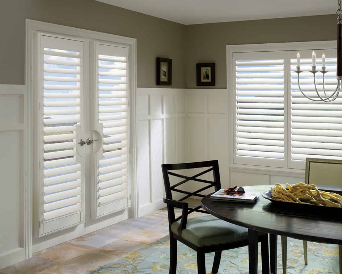 Palm Beach Polysatin Shutters Ruffell Amp Brown Window