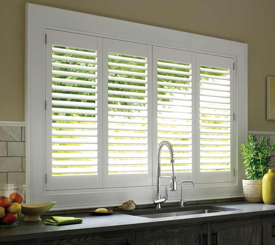 Palm Beach Polysatin Shutters - Ruffell & Brown Window Fashions