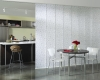 Hunter Douglas Skyline Gliding Window Panels can also be used as room dividers in open space layouts.