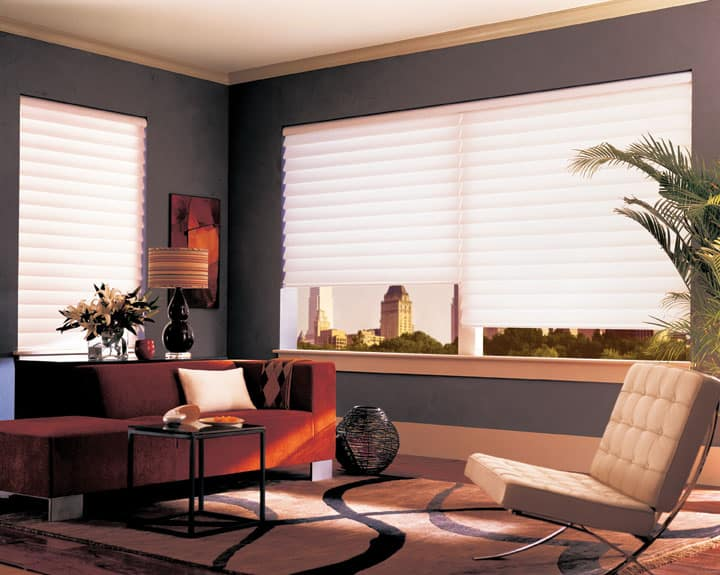 Vignette Modern Roman Shades Ruffell Amp Brown Window Fashions