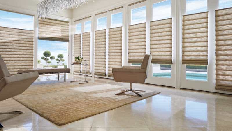 Vignette Modern Roman Shades Ruffell Amp Brown Window Fashions