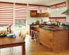 Vignette Modern roman shades can come with a 4-inch full fold for that traditional, yet modern, look at the window.