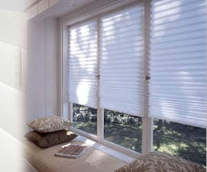 RediShades Temporary paper shades are light-filtering and a great solution while you wait for your custom window coverings to be installed.