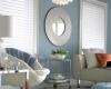 Enhance a room's decor with soft shadings.