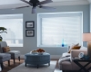 Don't block your view with soft shadings window coverings.