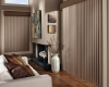 Hunter Douglas Cadence Soft vertical blinds are ideal for elegant styling and translucency.