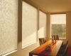 Hunter Douglas Designer Roller Shades can be motorized.