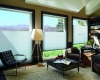 Top down bottom up shades provide energy efficient insulation when fully closed but allow you to still take advantage of the view or partial view.