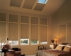Cellular shades are a great option for skylight windows as they provide amazing energy efficiency.