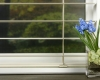 """Hunter Douglas 2"""" Reveal with Magnaview blinds offer twice the view through as the slats double up when opened."""