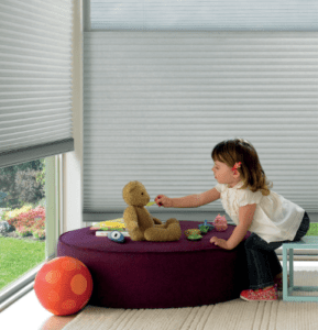 child blind safety - hunter douglas honeycomb shades