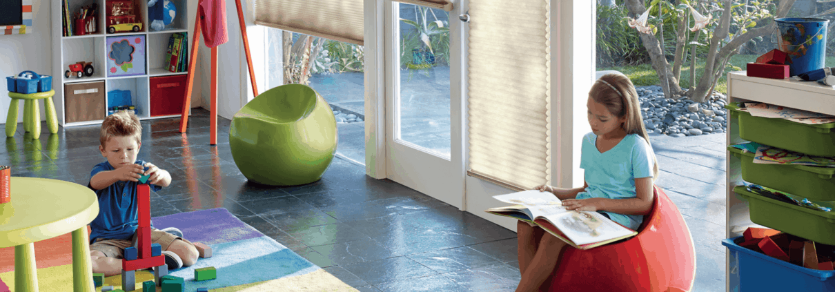child safety in window coverings- hunter douglas applause honeycomb shades-min