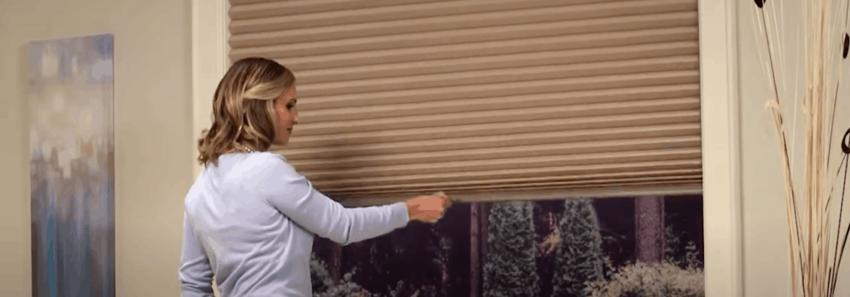 Cordless Blinds and Cordless Shades by Hunter Douglas